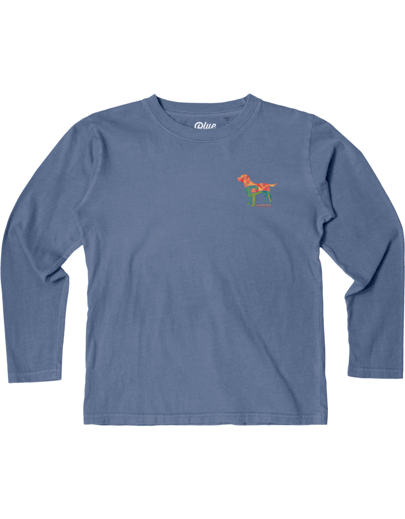 BLUE 84 REMNANT LAB YOUTH LS TEE