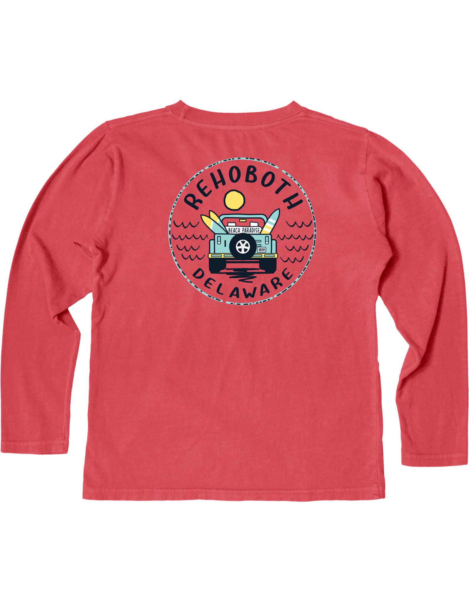 BLUE 84 CONCURRENCE JEEP YOUTH LS TEE