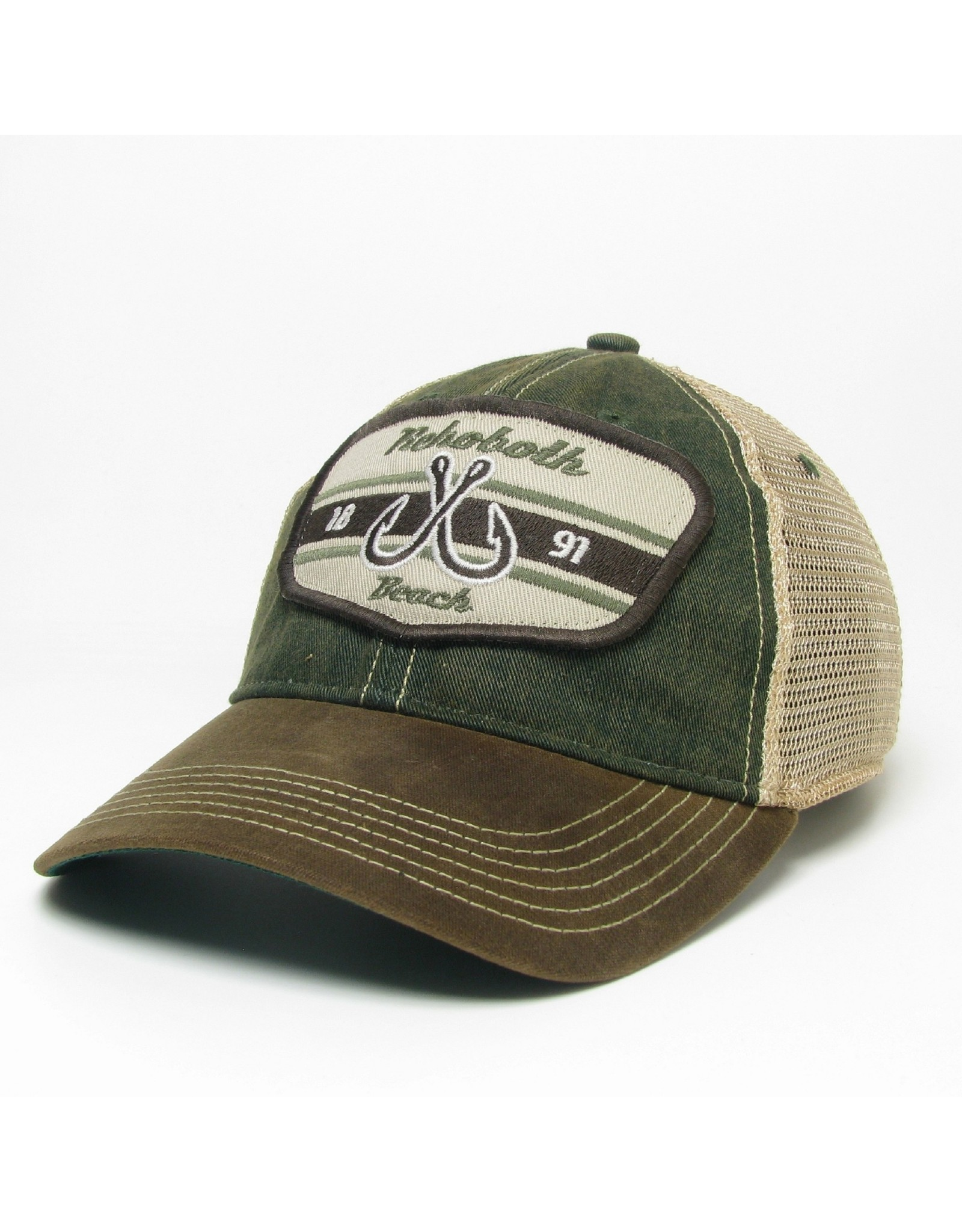 LEGACY ATHLETICS LEGACY OLD FAVORITE WAXED TRUCKER HAT