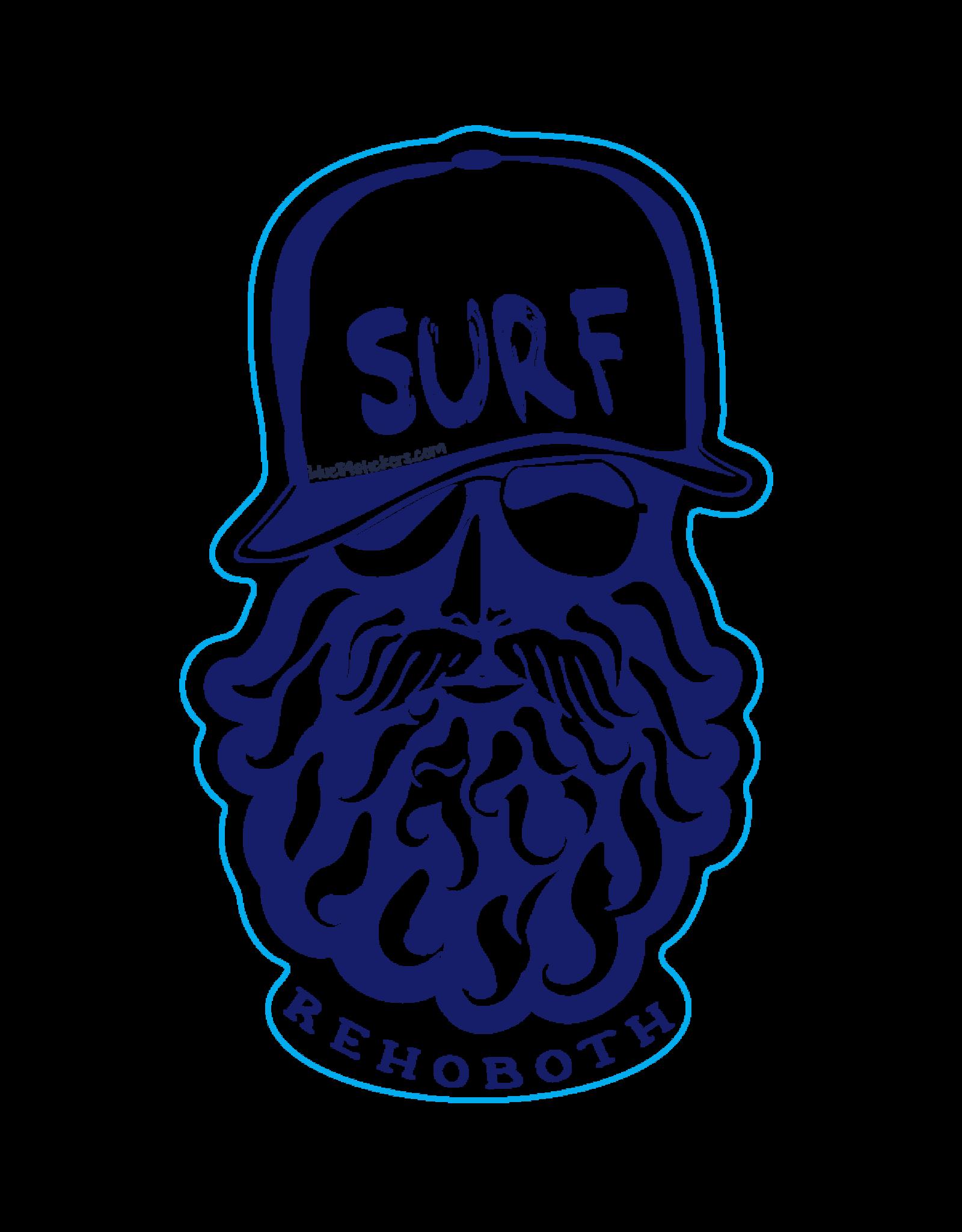BLUE 84 BEACH STICKER BEARDY