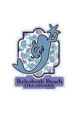 BLUE 84 BEACH STICKER CALM WATER MERMAID
