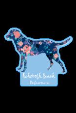 BLUE 84 BEACH STICKER COCOA LAB