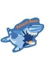 BLUE 84 BEACH STICKER LONE RANGER SHARK
