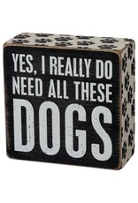 PRIMITIVES BY KATHY PET LOVER BLOCK SIGNS REALLY DO NEED ALL THESE DOGS