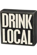 PRIMITIVES BY KATHY ATTITUDE BLOCK SIGNS DRINK LOCAL