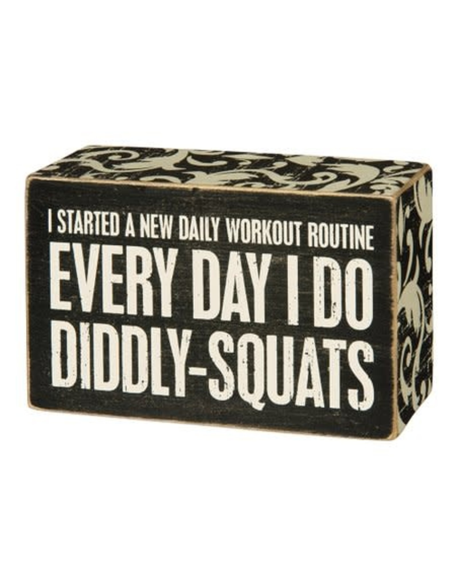 PRIMITIVES BY KATHY ATTITUDE BLOCK SIGNS DIDDLY SQUATS