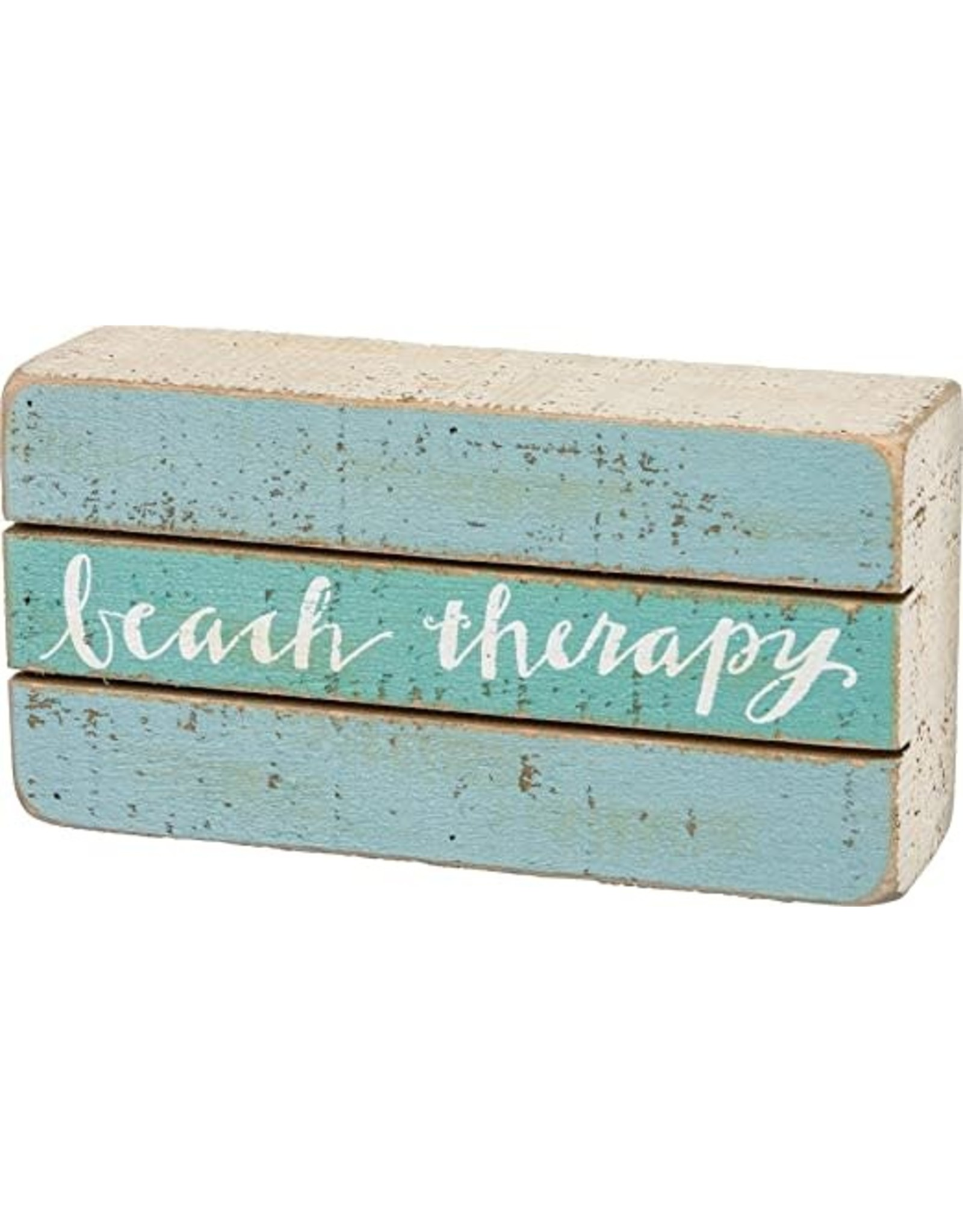 PRIMITIVES BY KATHY BEACH LOVER BLOCK SIGNS BEACH THERAPY
