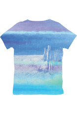 BLUE 84 SUBLIMATION LIVE IN THE SUN VNECK SS TEE