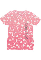 BLUE 84 SUBLIMATION GET AWAY STARFISH VNECK SS TEE