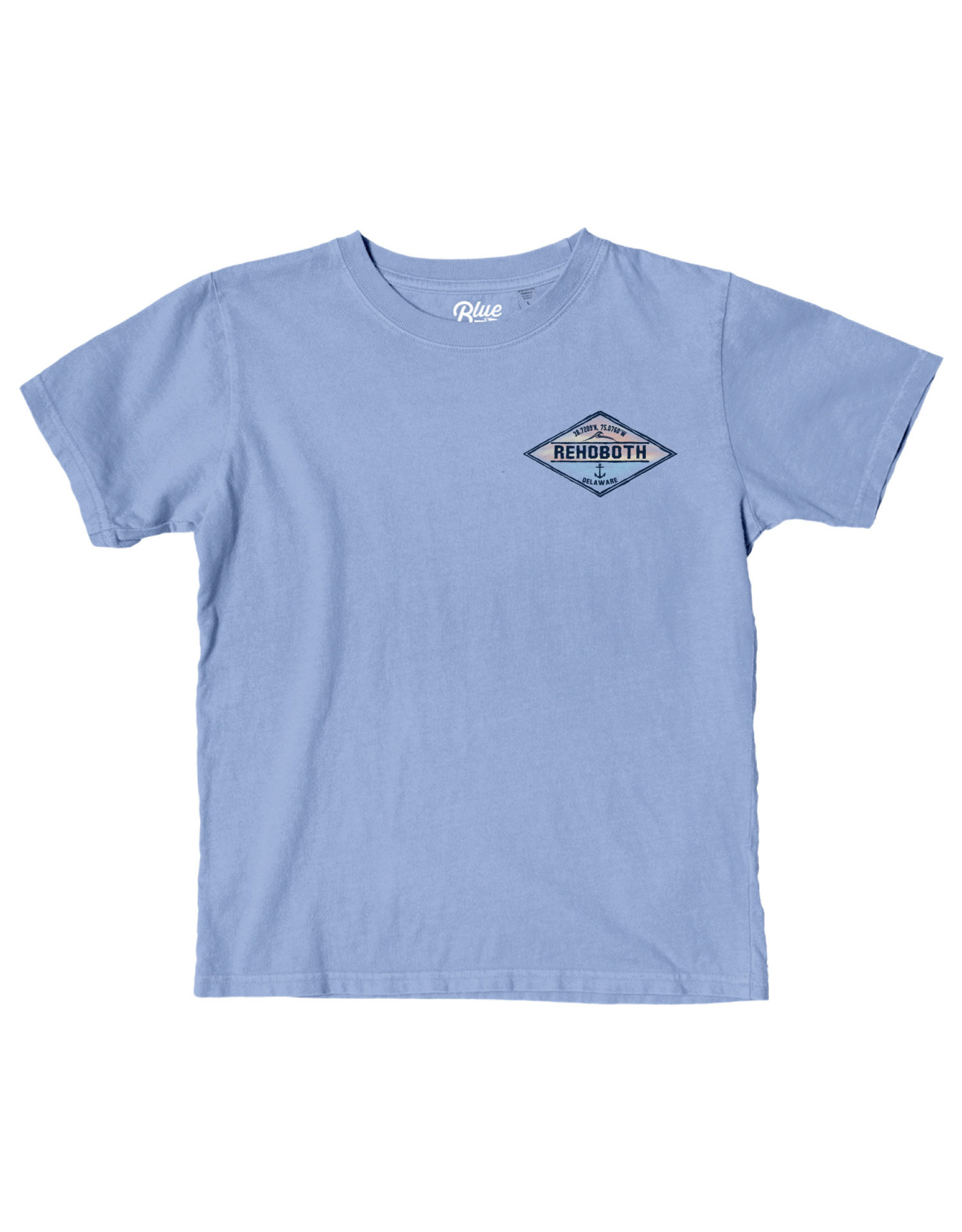 BLUE 84 HARK BACK WAVE/ANCHOR YOUTH SS