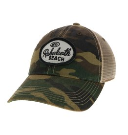 LEGACY ATHLETICS LEGACY OLD FAVORITE TRUCKER HAT ARMY CAMO SPANKY OVAL