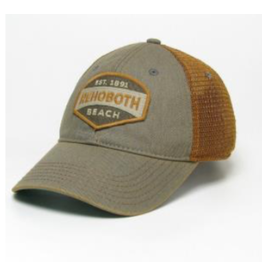 LEGACY ATHLETICS LEGACY OLD FAVORITE TRUCKER HAT COPPER RISE UP