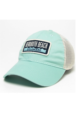 LEGACY ATHLETICS LEGACY RELAXED TWILL TRUCKER HAT SPEARMINT WAVE