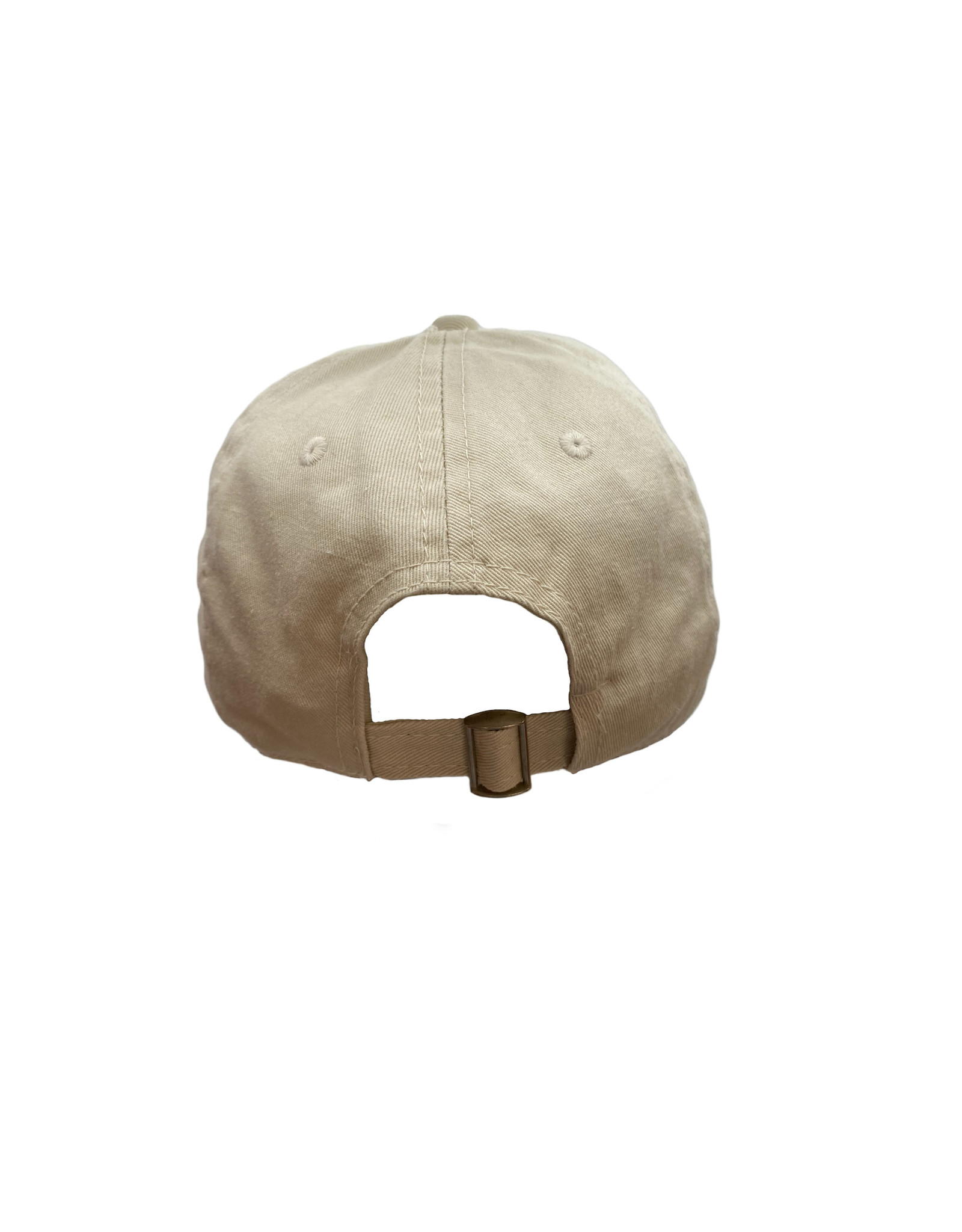 REHOBOTH LIFESTYLE CLASSIC COTTON BEACH HAT ADJUSTABLE OS IVORY RB