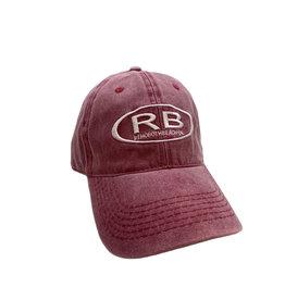 REHOBOTH LIFESTYLE CLASSIC COTTON BEACH HAT ADJUSTABLE OS CRIMSON RB