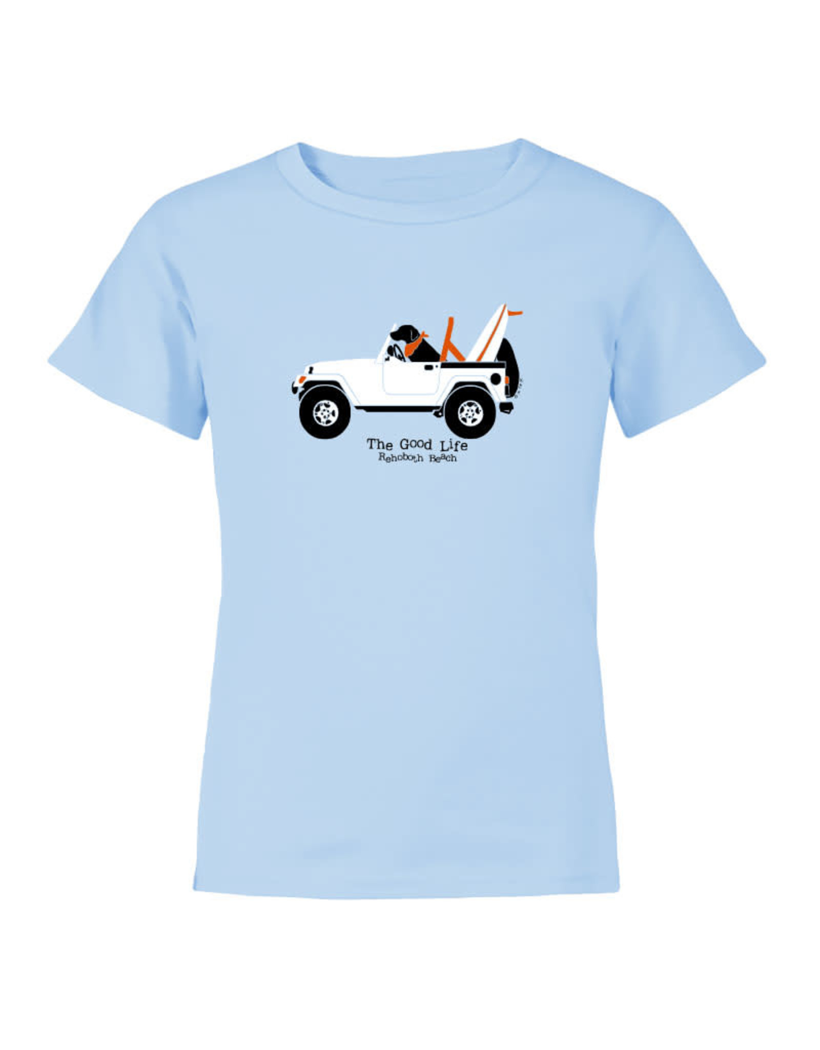 THE GOOD LIFE LAB IN JEEP YOUTH SS TEE