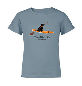 THE GOOD LIFE PADDLEBOARD LAB YOUTH SS TEE