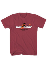 THE GOOD LIFE LAB IN KAYAK SS TEE