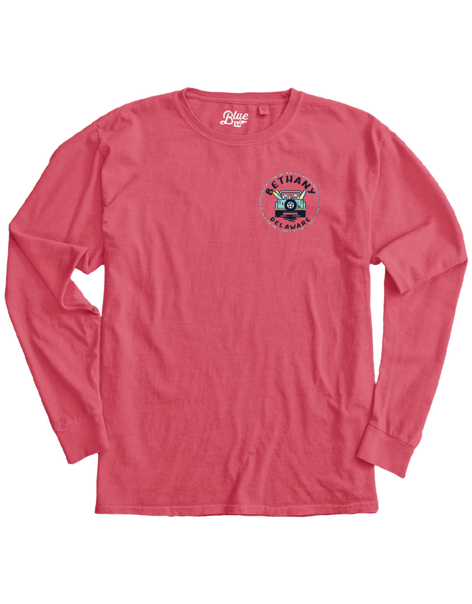 BLUE 84 BETHANY CONCURRENCE JEEP LS TEE