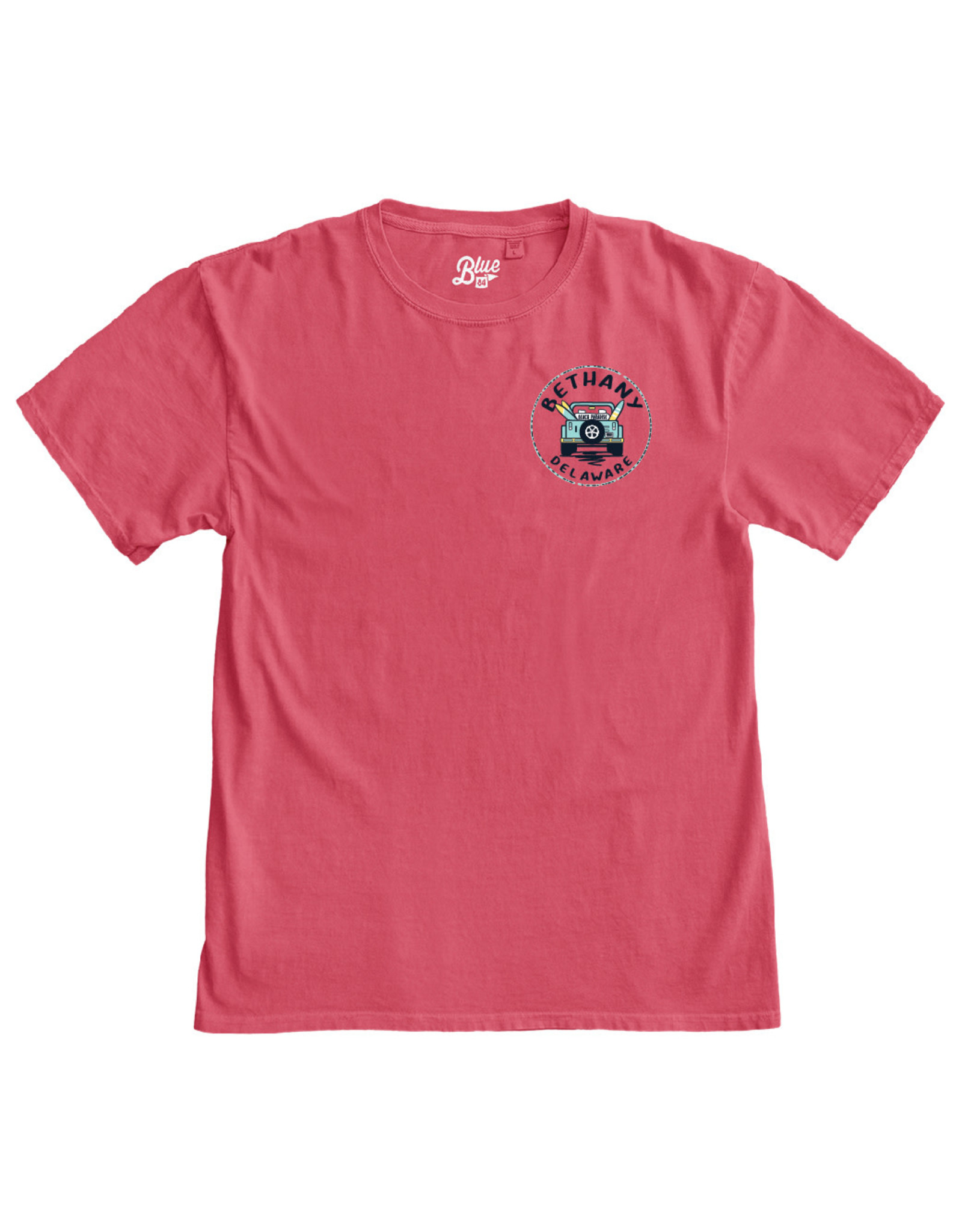 BLUE 84 BETHANY CONCURRENCE JEEP SS TEE
