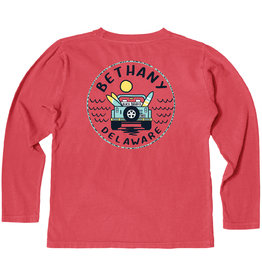 BLUE 84 BETHANY CONCURRENCE JEEP YOUTH LS TEE