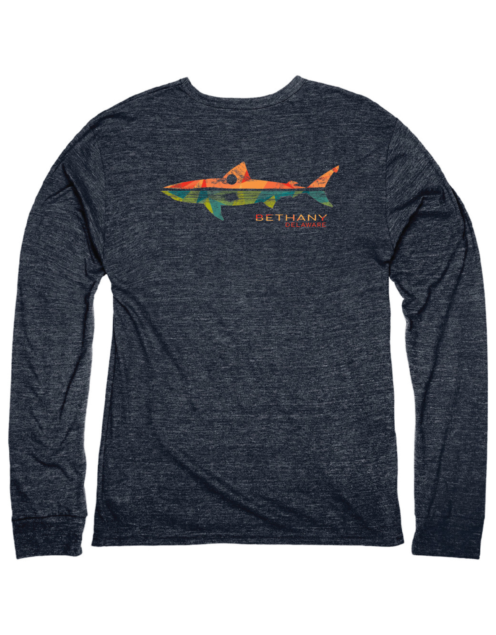 BLUE 84 BETHANY REMNANT SHARK TRIBLEND LS TEE