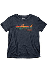 BLUE 84 BETHANY REMNANT SHARK TRIBLEND YOUTH SS TEE