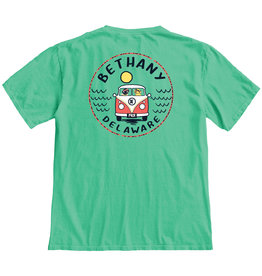 BLUE 84 BETHANY CONCURRENCE BUS/DOGS SS TEE