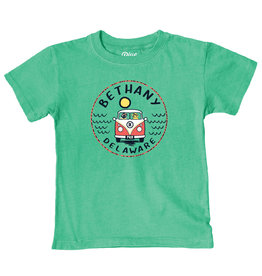 BLUE 84 BETHANY INFANT CONCURRENCE BUS/DOGS TEE