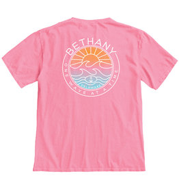 BLUE 84 BETHANY EFFECTIVE WAVE SS TEE