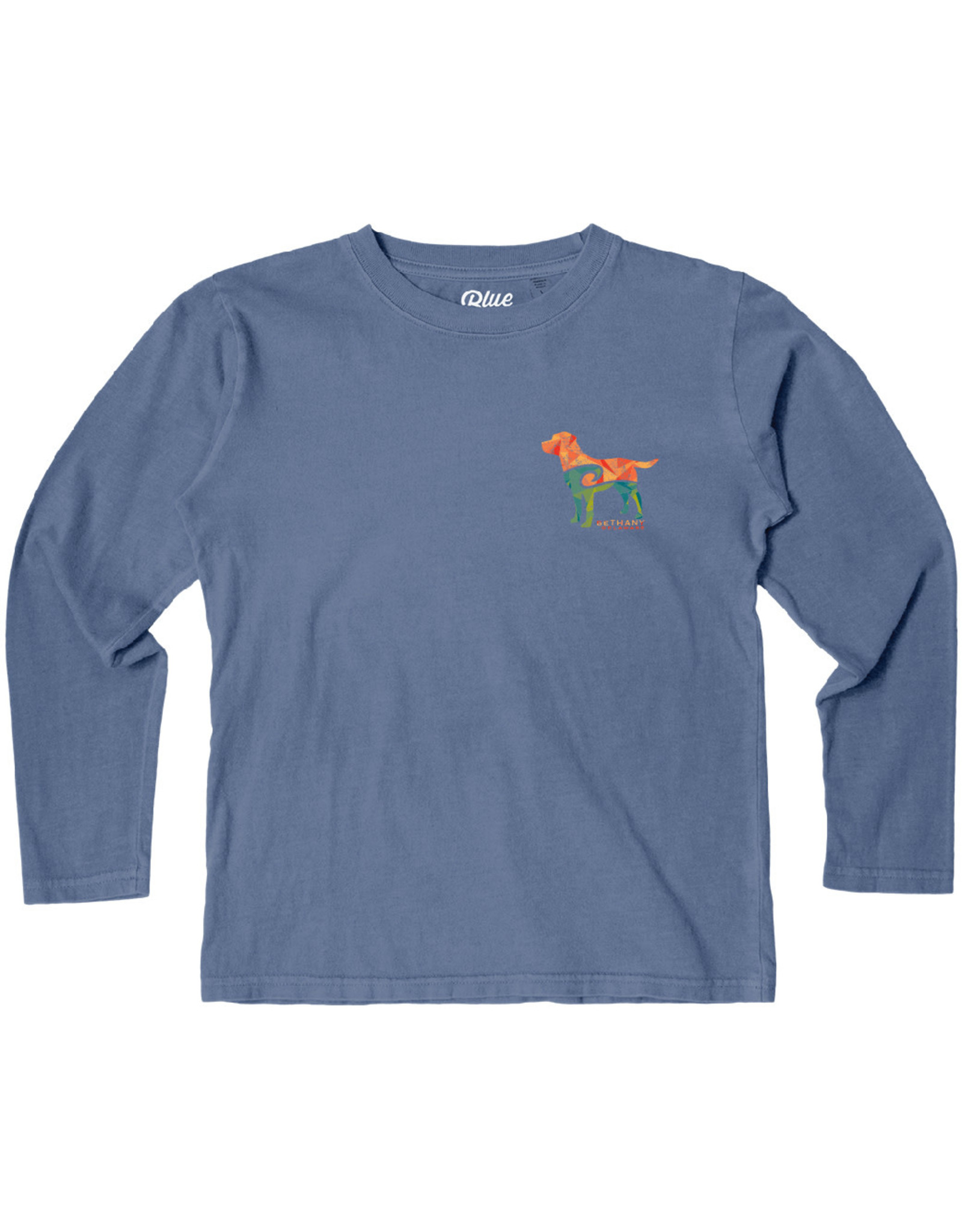 BLUE 84 BETHANY REMNANT LAB YOUTH LS TEE