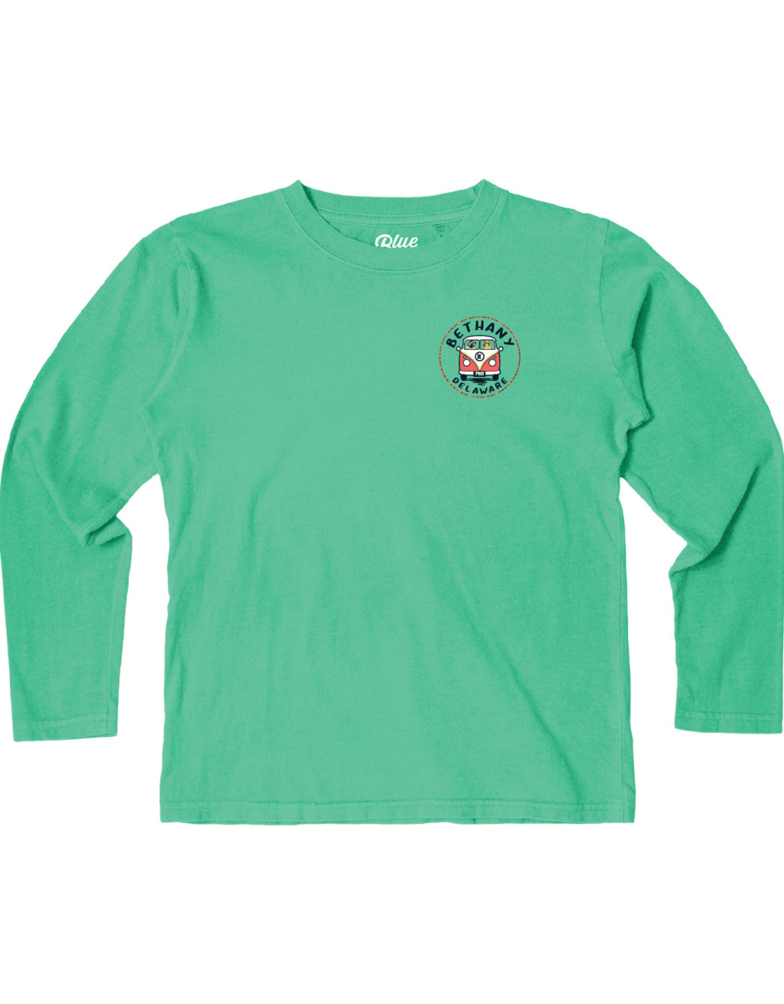 BLUE 84 BETHANY CONCURRENCE BUS/DOGS YOUTH LS TEE