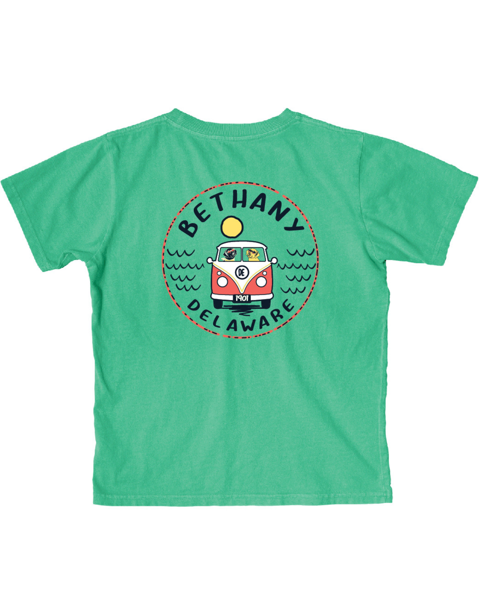 BLUE 84 BETHANY CONCURRENCE BUS/DOGS YOUTH SS TEE