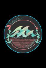 BLUE 84 BEACH STICKER JASPER WAVES