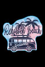 BLUE 84 BEACH STICKER MAFIA SURF BUS