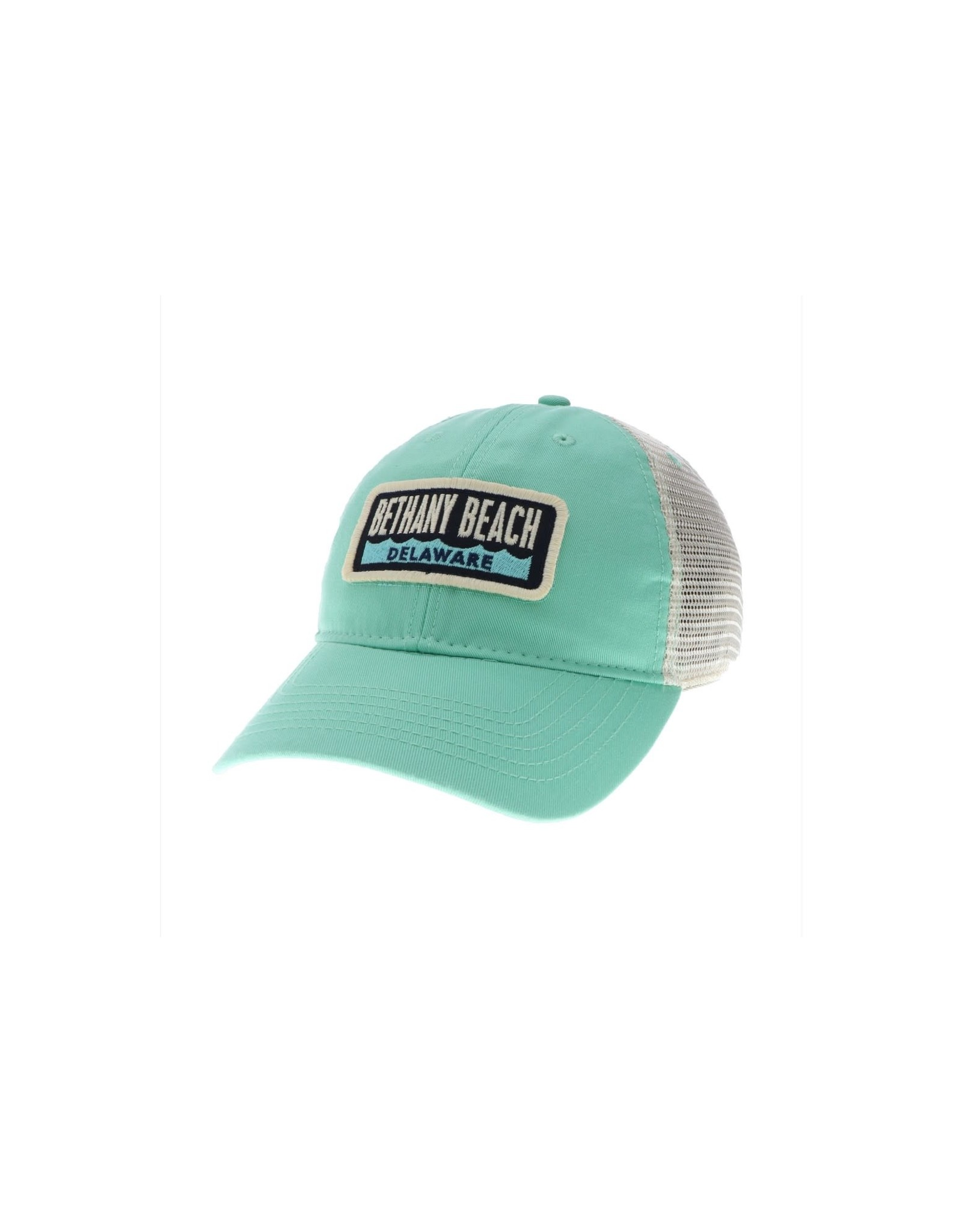 LEGACY ATHLETICS BETHANY LEGACY RELAXED TWILL TRUCKER HAT SPEARMINT WAVE