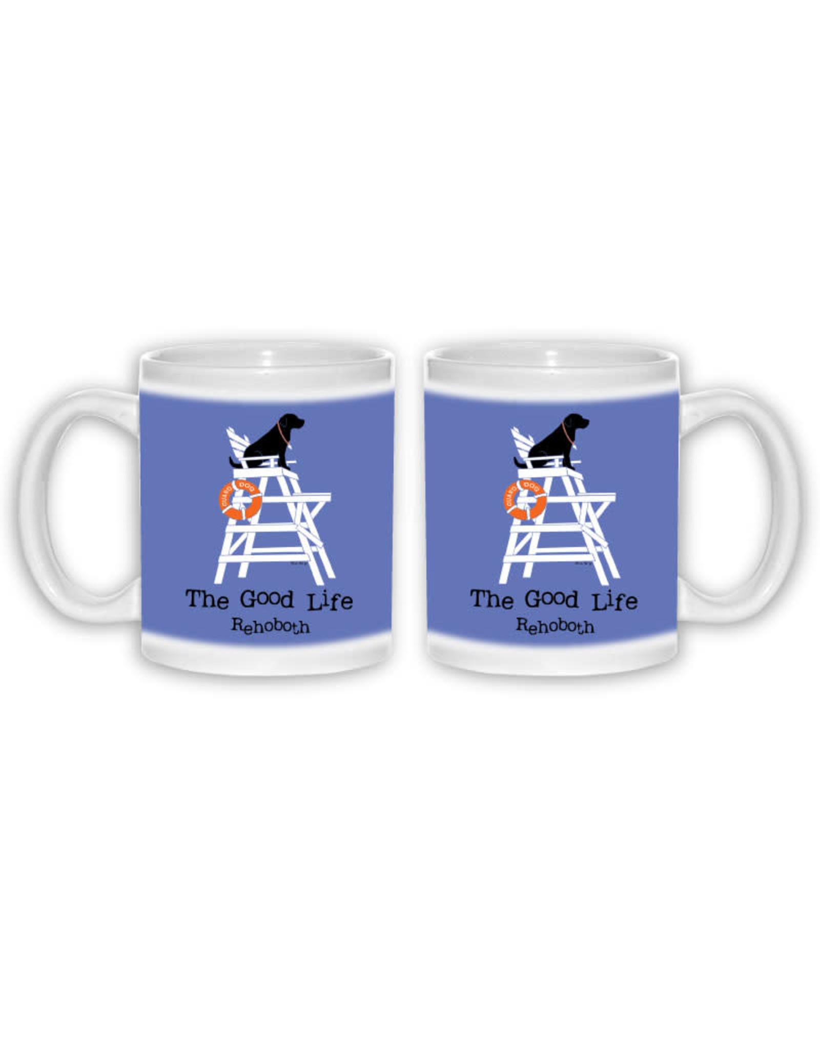 THE GOOD LIFE THE GOOD LIFE COFFEE MUG 11 OZ GUARD DOG