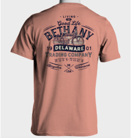HIGH RANGE DESIGNS BETHANY BEELINE COASTAL BIKE SS TEE