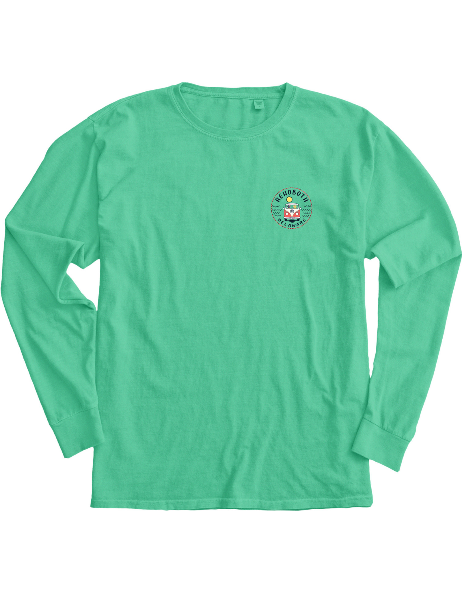 BLUE 84 CONCURRENCE BUS/DOGS LS TEE