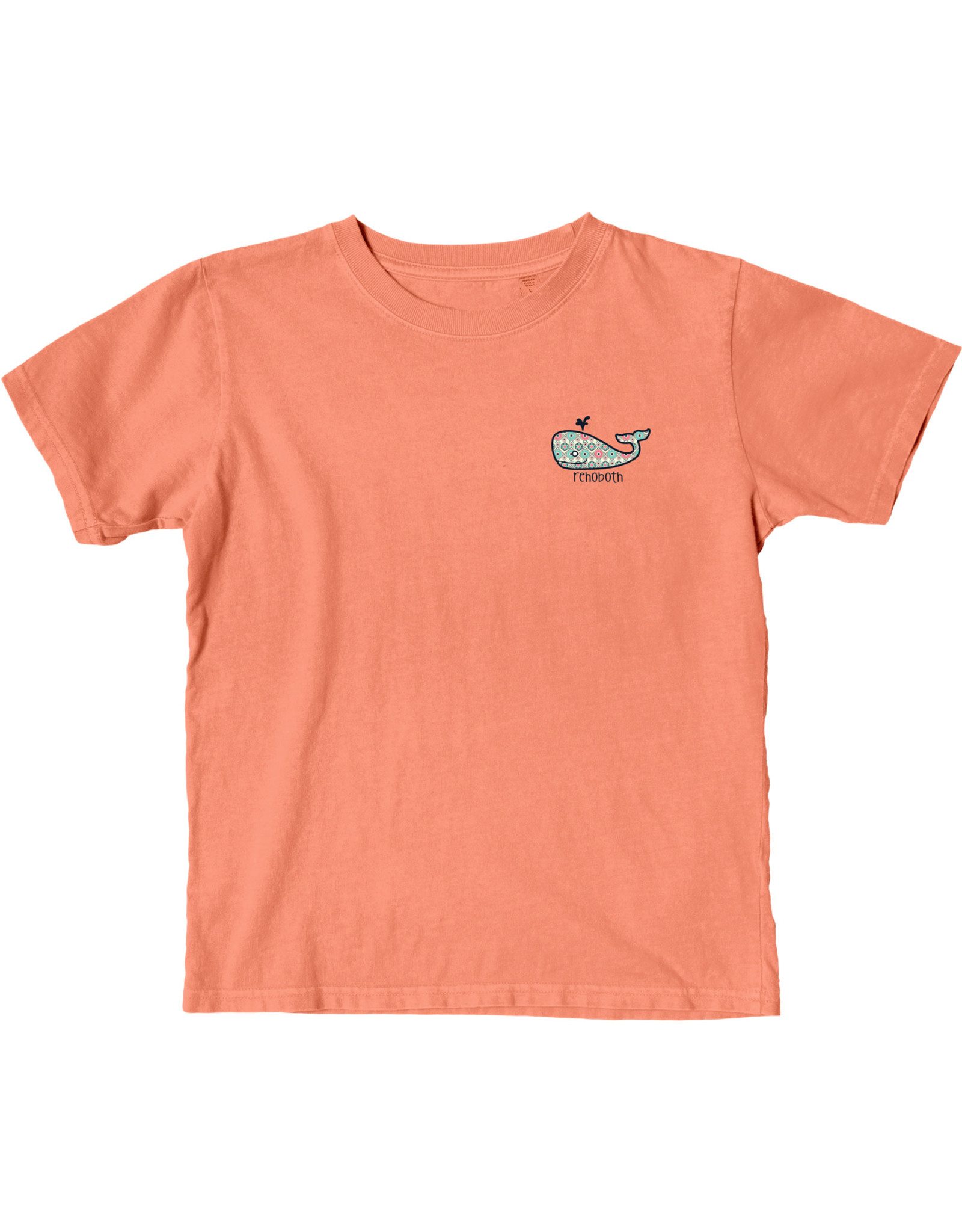 BLUE 84 WISH LIST WHALE YOUTH SS TEE
