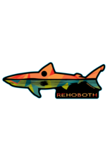 BLUE 84 ACRYLIC MAGNET REMNANT SHARK