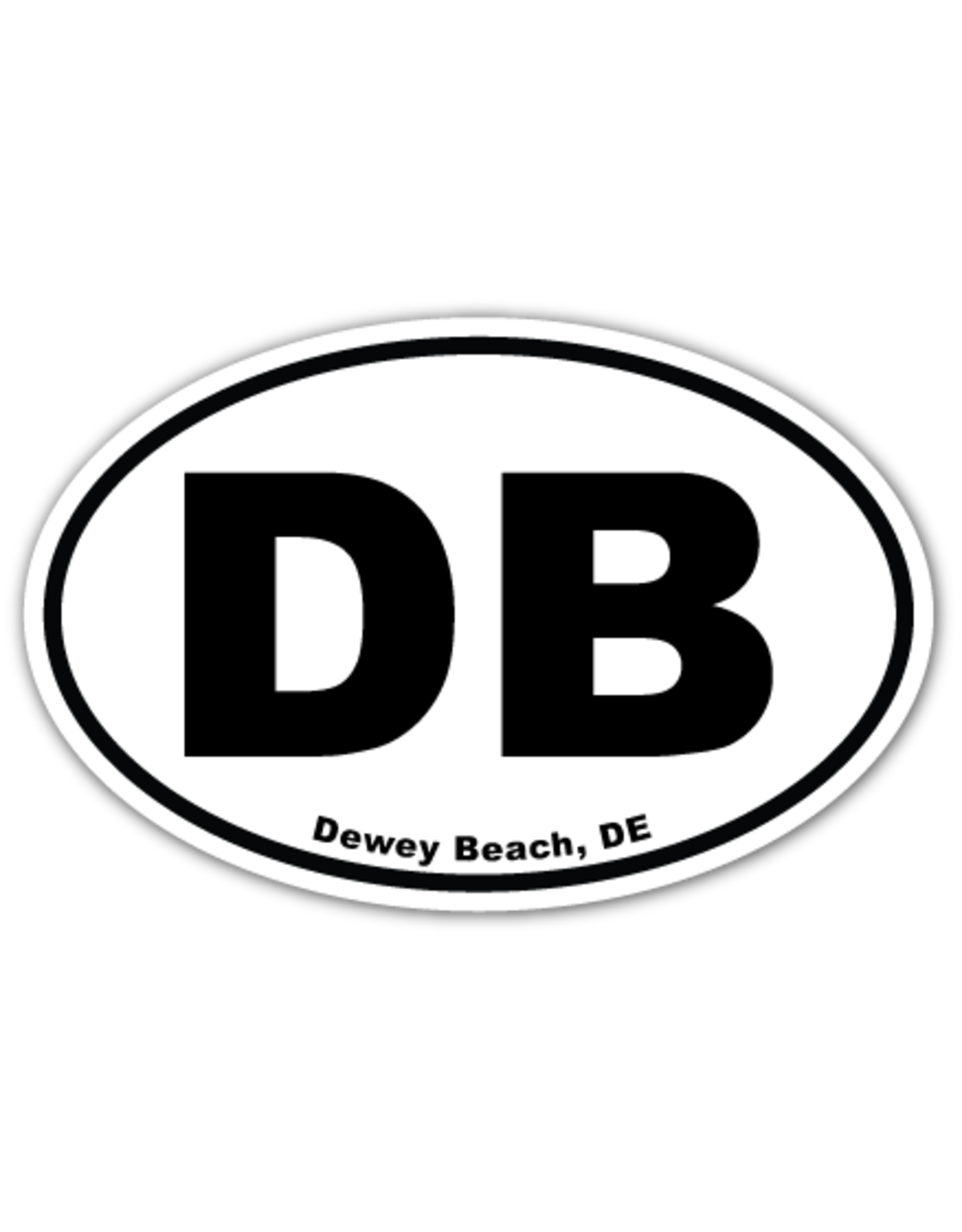 REHOBOTH LIFESTYLE EURO MAGNET 5.75 x 3.875 OVAL DEWEY BEACH