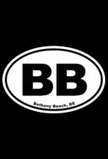 REHOBOTH LIFESTYLE EURO STICKER 5.75 x 3.875 OVAL BETHANY BEACH
