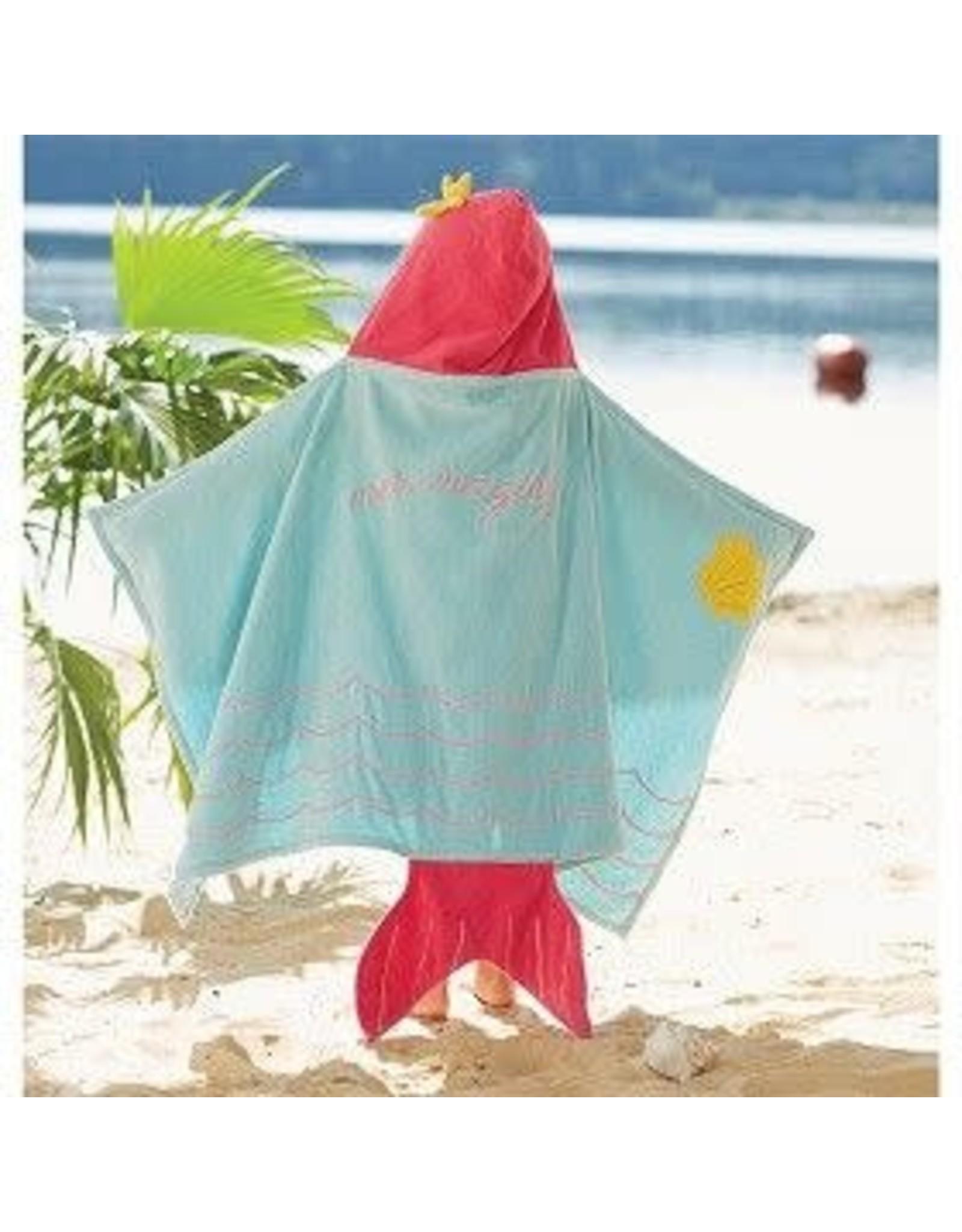 MUDPIE MUDPIE HOODED BEACH TOWEL