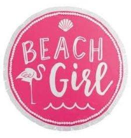 MUDPIE ROUND BEACH TOWEL