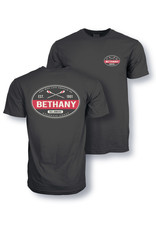 AUSTINS BETHANY RED STRIPE SS TEE
