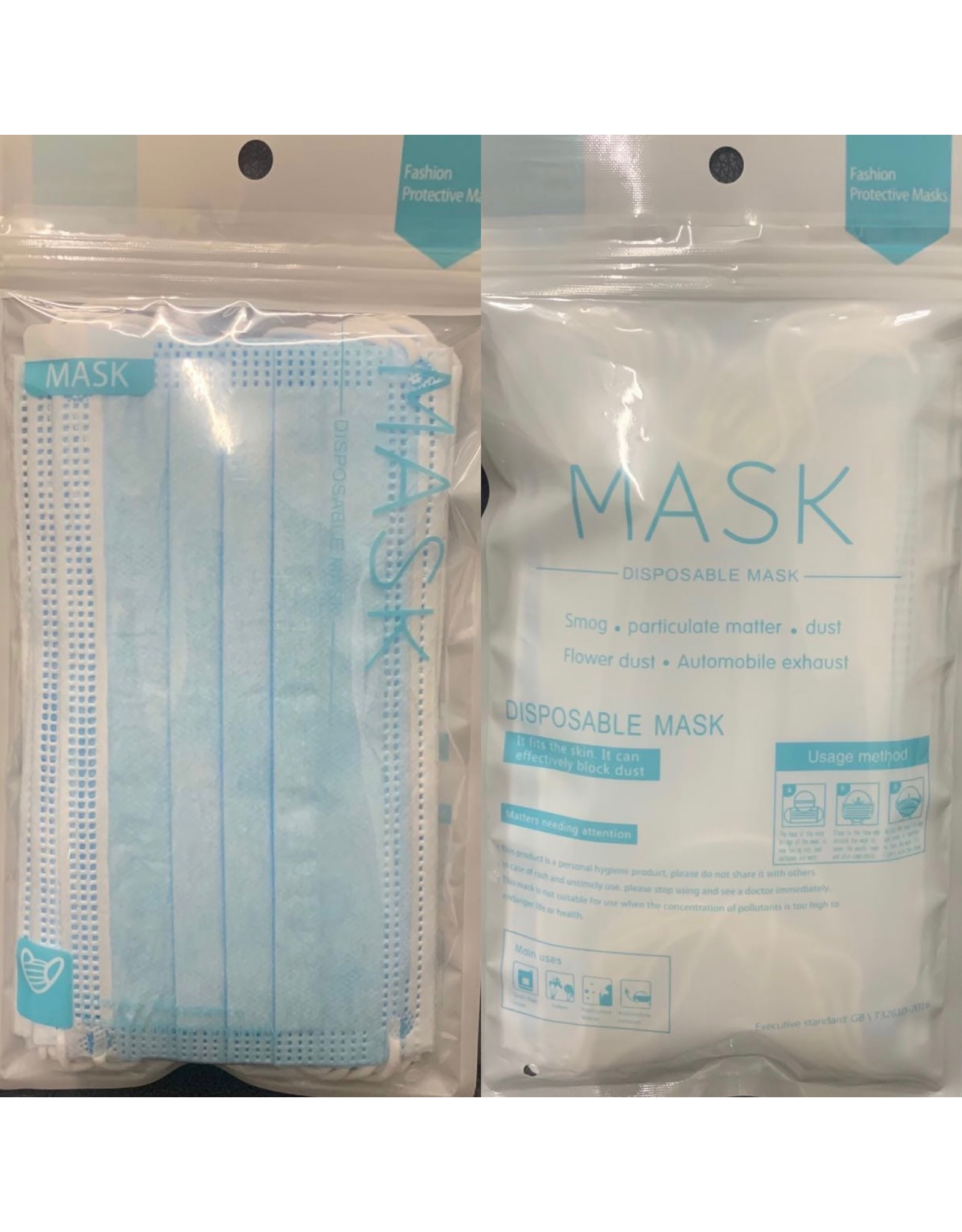 FACE MASK 10 PACK