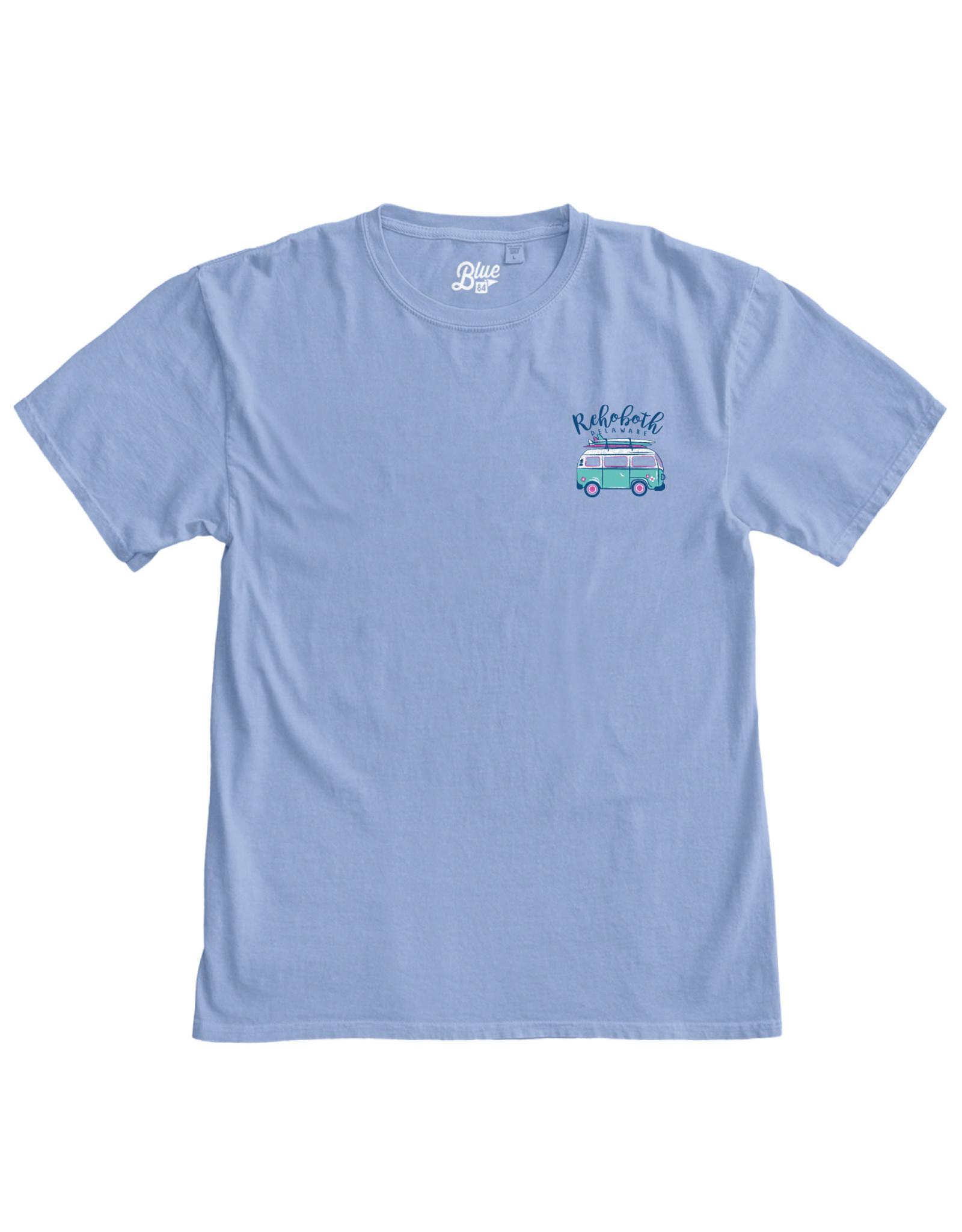 BLUE 84 AMERIGO SURF VAN SS TEE