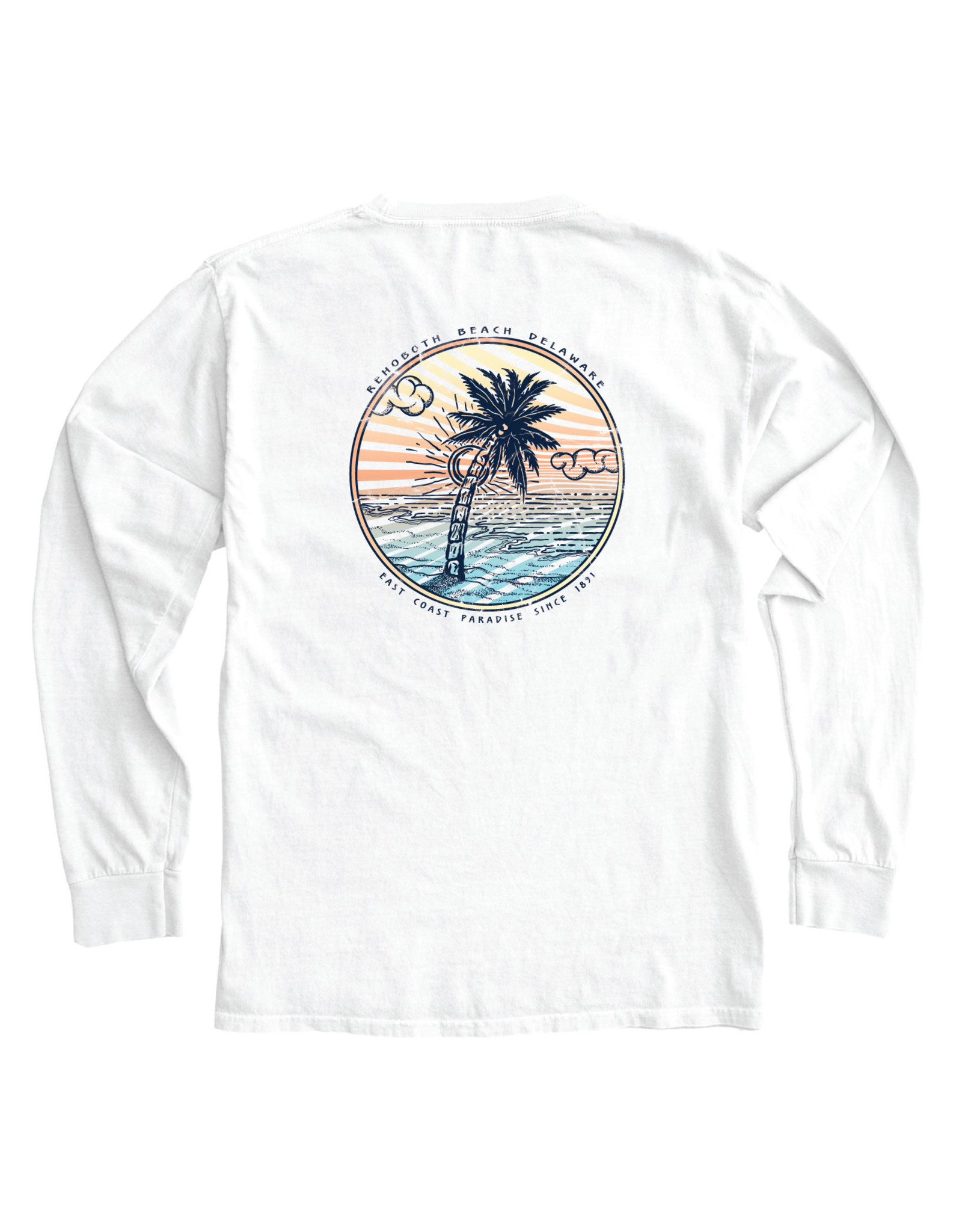 BLUE 84 PICKLED PALM LS TEE