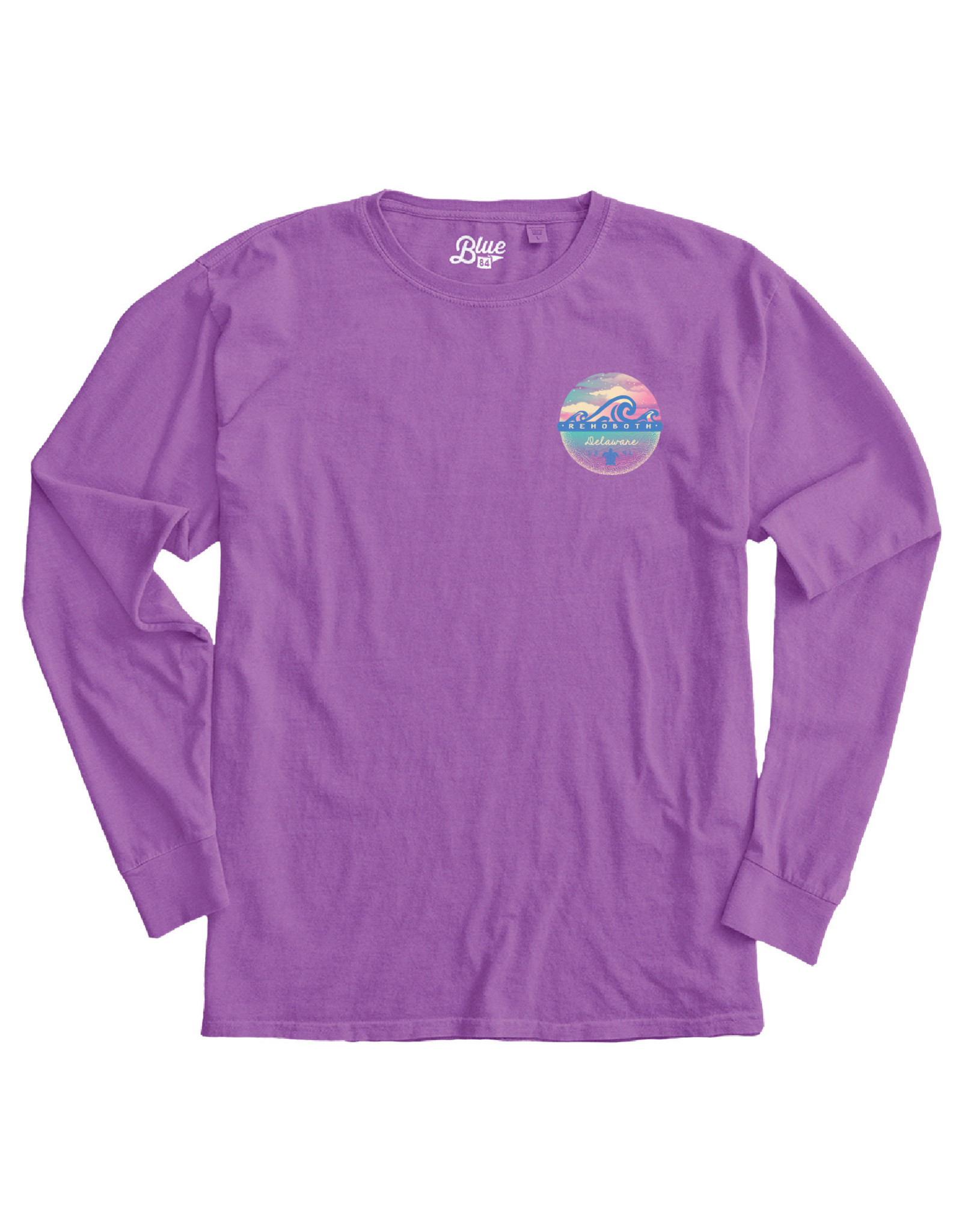 BLUE 84 MYTHIC WAVES LS TEE